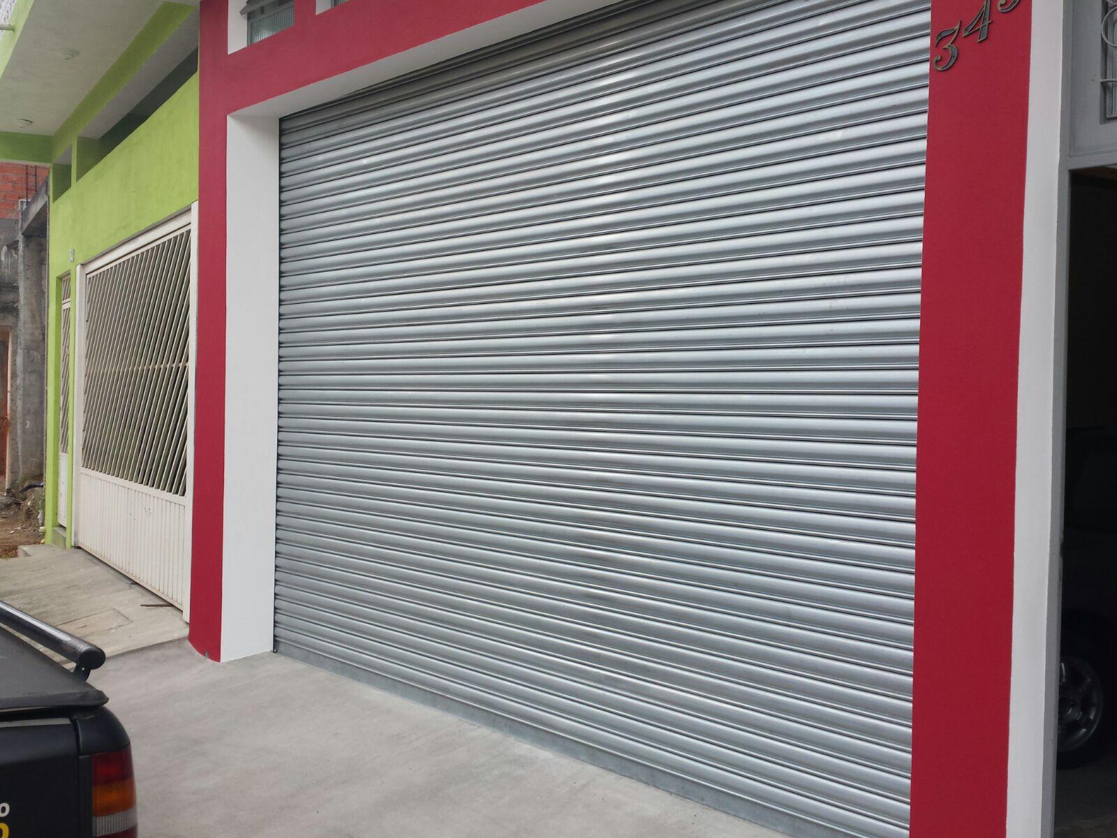 porta de enrolar - Porta Automática de Enrolar