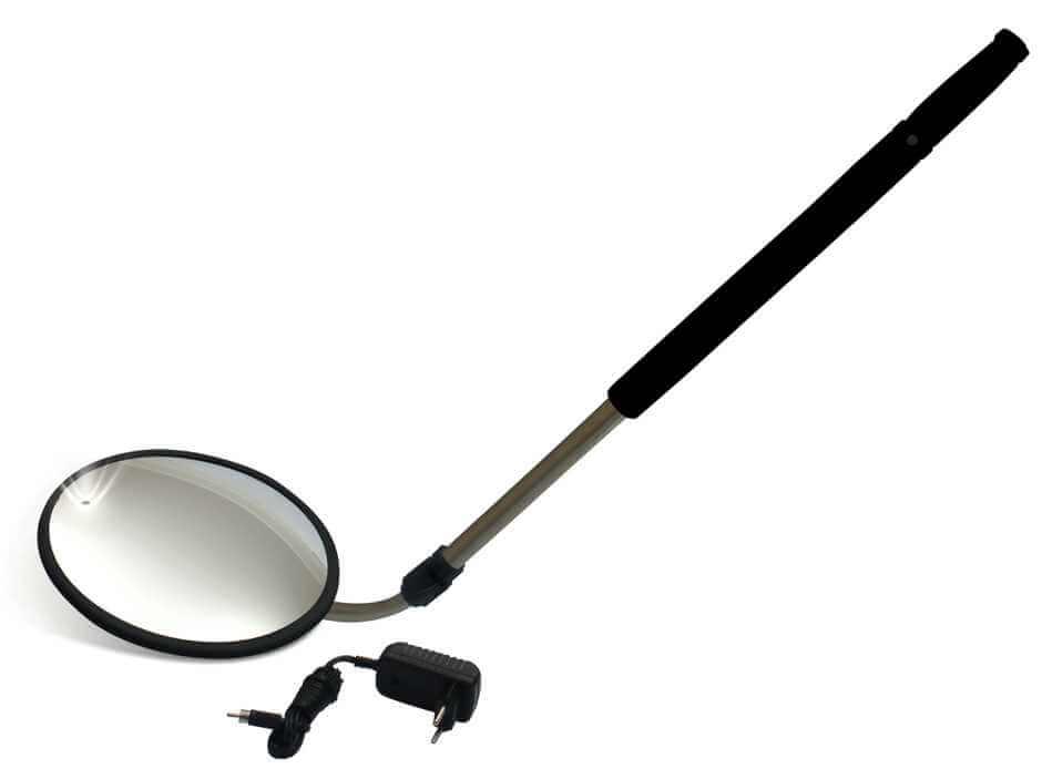 Espelho inspeção Veicular - Espelho Convexo