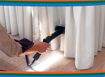 limpeza de cortinas - Lavanderia