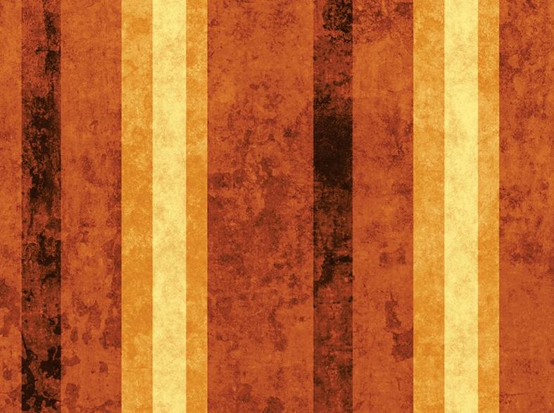 Papel - Adesivo de Parede Listrado de coloração abóbora - Papel de Parede Personalizado
