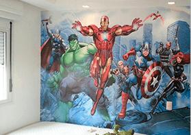 Papel de Parede Super Herói