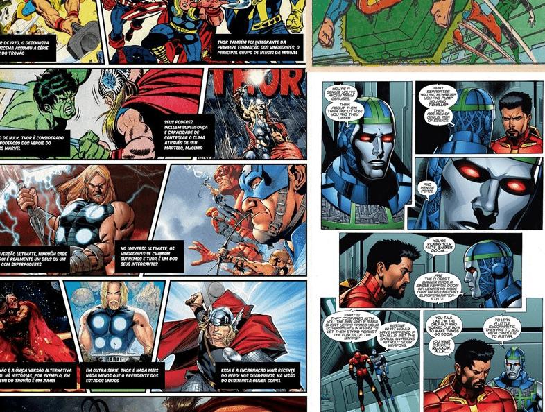 Papel de Parede Super Heróis