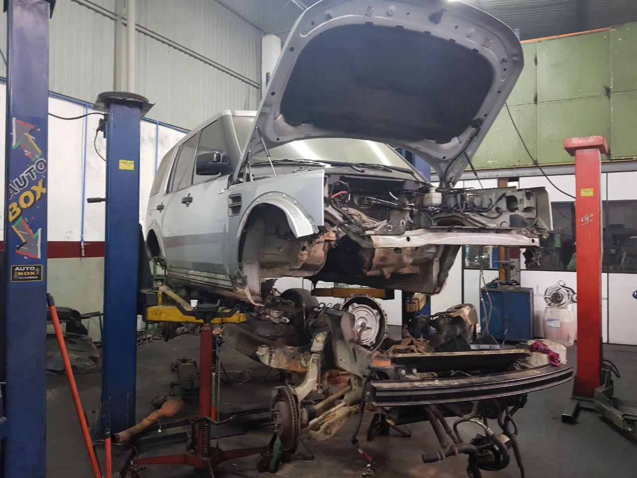 oficina land rover - Troca de óleo e Filtro HR L200 SPRINTER PAJERO MASTER HILUX BONGO