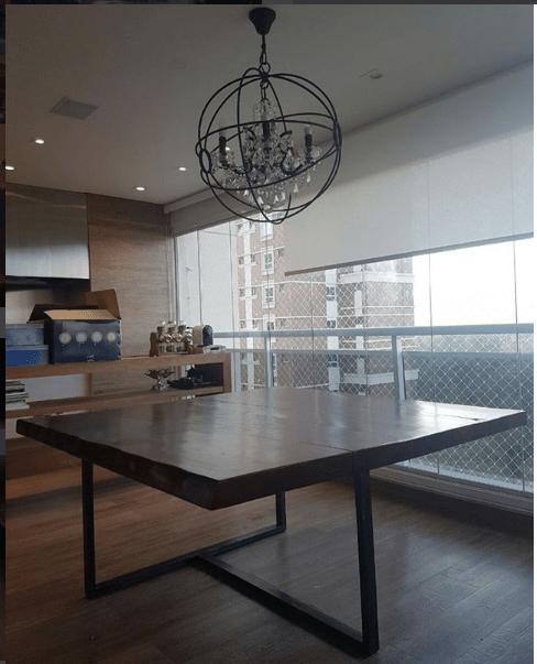 Mesa Rustica Maciça - Fabricação Sob Medida de Móveis Rústicos de Madeira Maciça