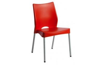 Cadeira-Beach - Cadeira Assento e encosto plástico polipropileno