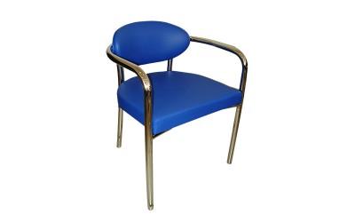 Poltrona-Lina - Poltrona Estrutura tubular assento e encosto estofado
