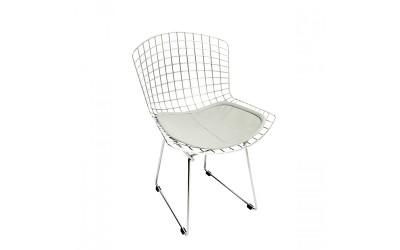 Tabano - Cadeira Aramada com Assento Estofado