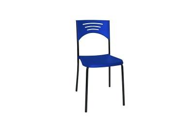 Tabano - Cadeira Estrutura tubular assento e encosto plástico polipropileno