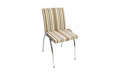 Tabano - Cadeira Estrutura tubular assento e encosto estofado