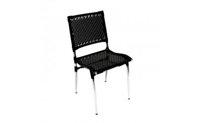 Tabano - Cadeira Estrutura tubular com trama em vime sintético