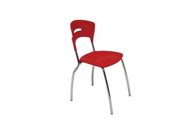 Tabano - Cadeira Light – Estrutura tubular assento e encosto plástico