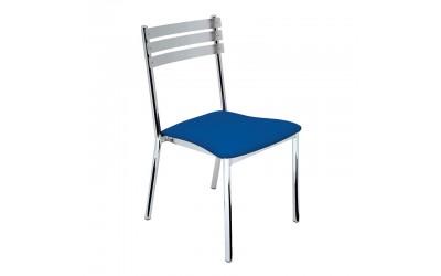 Tabano - Cadeira Mediterrâneo – Estrutura tubular com assento estofado