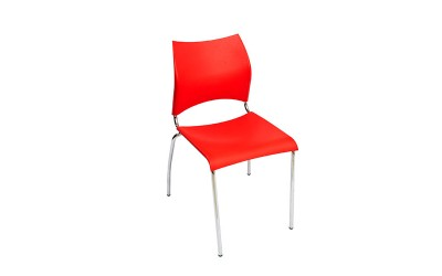 Tabano - Cadeira New – Estrutura tubular assento e encosto plástico polipropileno