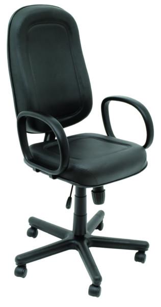 Tabano - Cadeira Giratória Presidente Piscina com Relax com Braços Estofado em Courvim