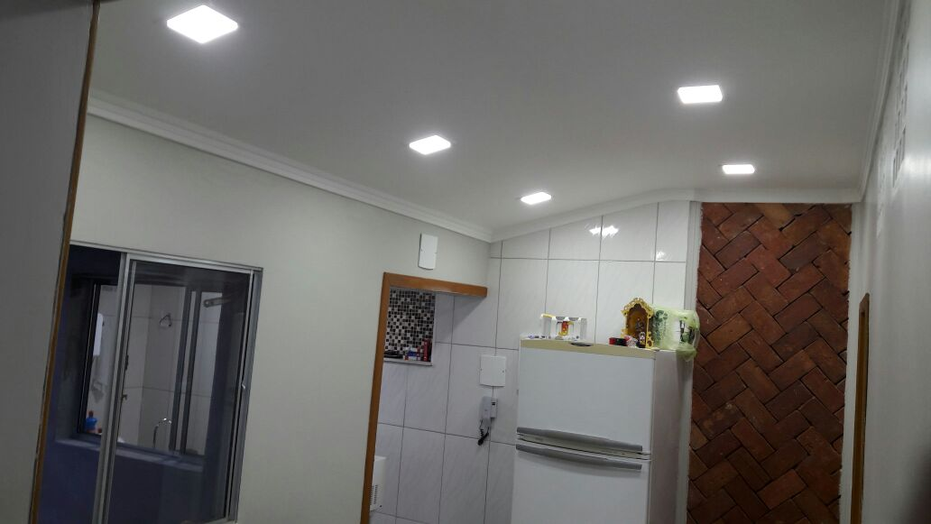 Instalação de luminaria - Pedreiro Santana