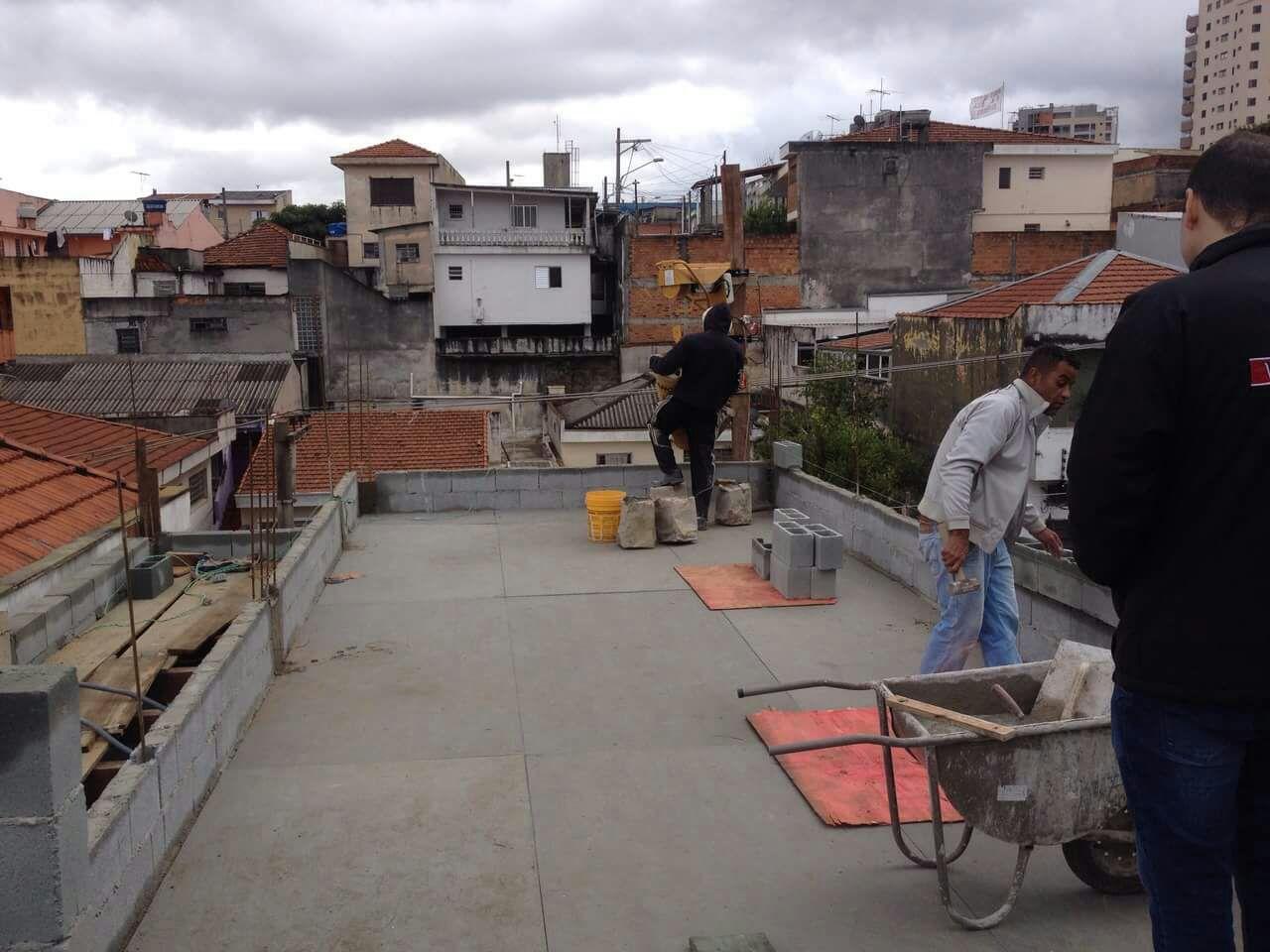 Laje a Seco Depois - Serviços em Telhado no Imirim