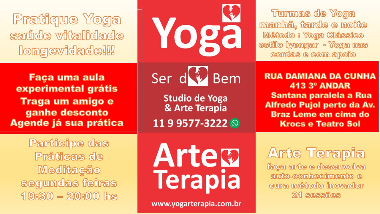Venha nos Visitar com direito a uma aula Grátis - Yoga Parada Inglesa