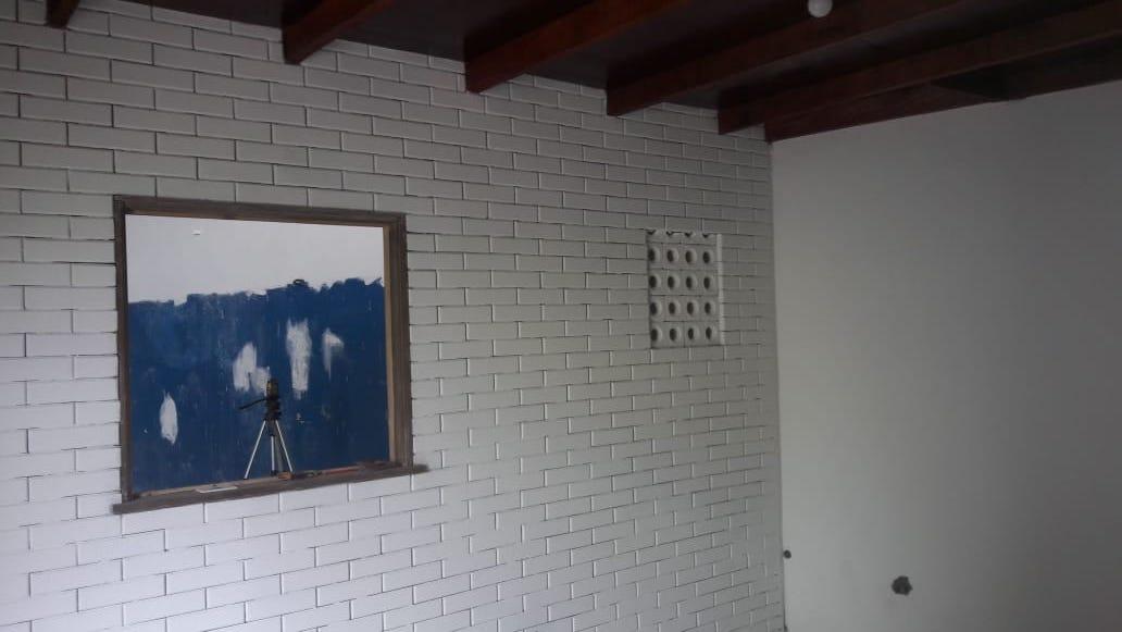 Comodo Feito com Tijolo Ecologico Pintura Interna - Tijolo ecológico Faça sua construção