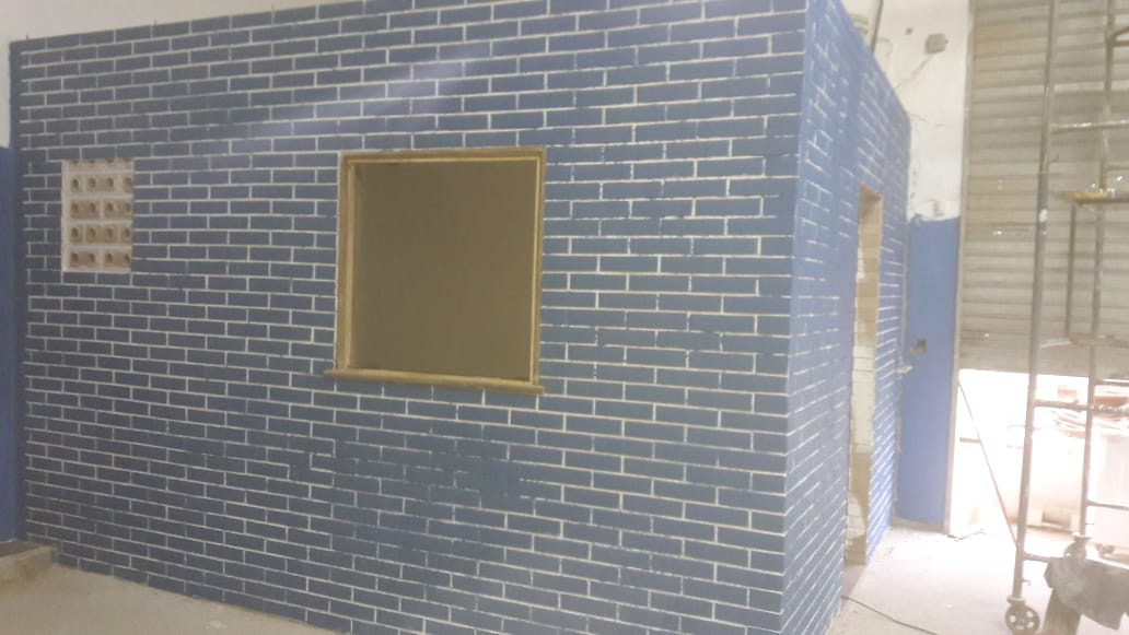 Comodo Feito com Tijolo Ecologico Pintura - Tijolo ecológico Faça sua construção