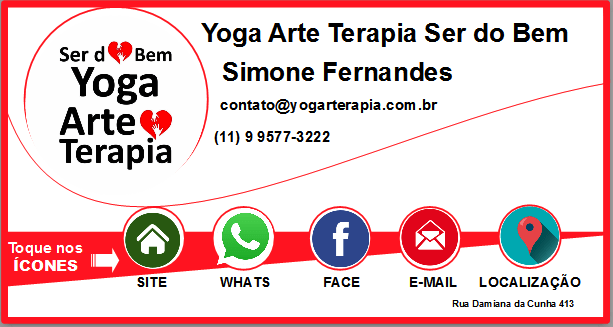 cartao virtual yoga arte terapia ser do bem