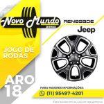 Roda aro 18 Jeep Renegade