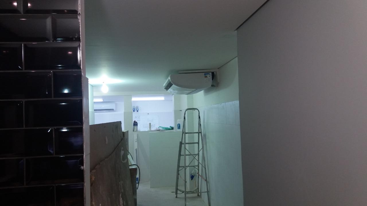 Finalizacao da instalacao do ar condicionado - Instalação de Ar Condicionado em Moema