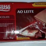 Barra Chocolate Nestle 1kilo ao Leite