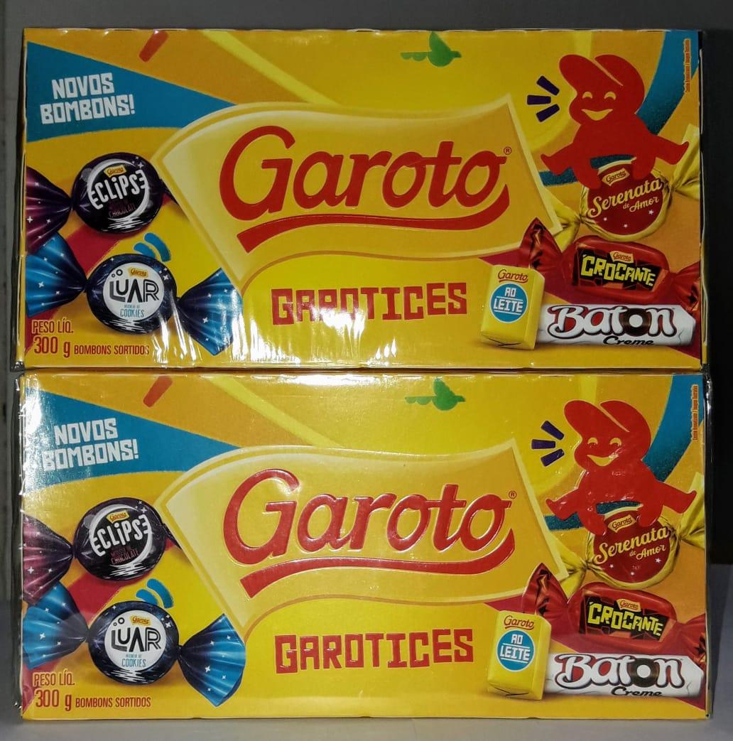Bombom Garoto 300 gramas - Stikadinho 394 gramas