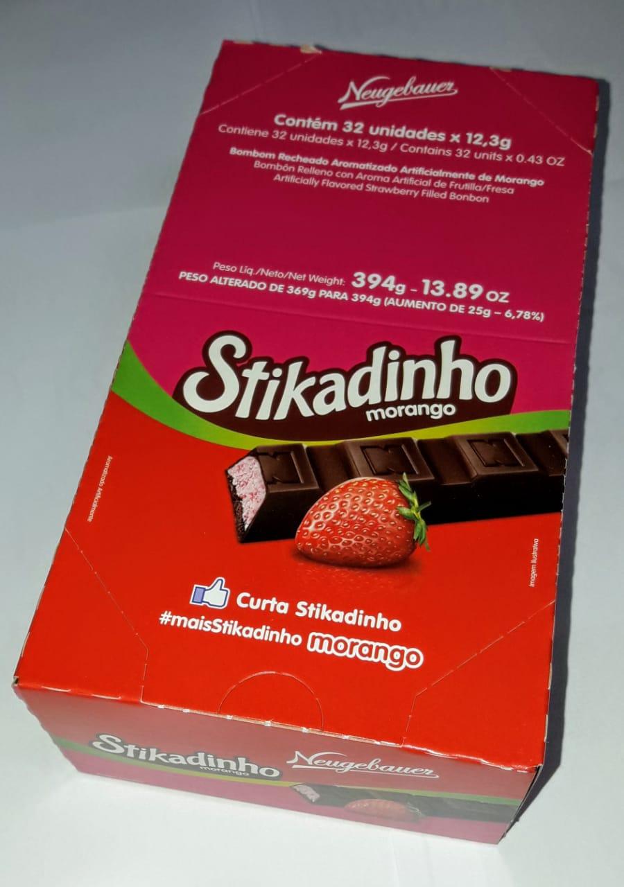 Stikadinho 394 gramas - 32unidades - Stikadinho 394 gramas