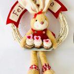 Guirlanda Páscoa Sweet Red