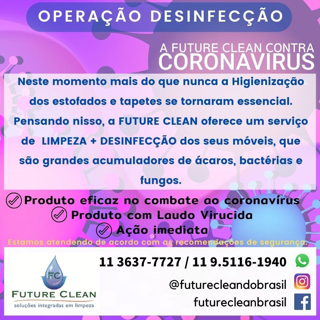 higienizacao contra corona virus