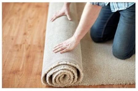 desinfecção de tapetes