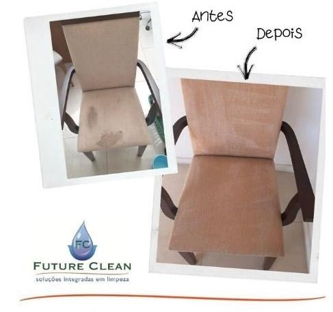 higienizacao de estofados cadeiras